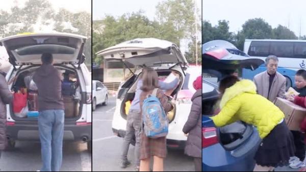 后备箱里的中国年!在高速服务区,探访回家过年的后备箱