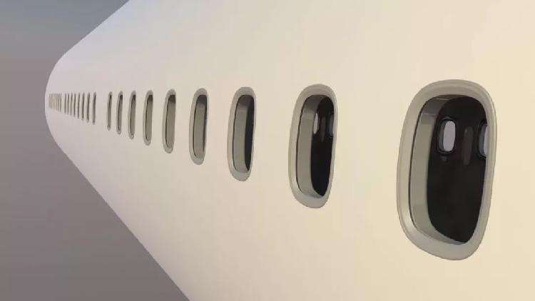 好奇心日报 | 飞机上的窗户为什么要做成圆形?