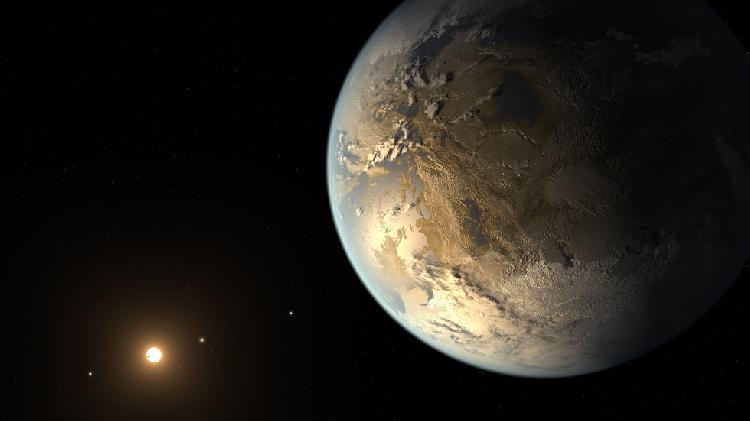 NASA首次在太阳系外发现类地行星(Kepler-186f)