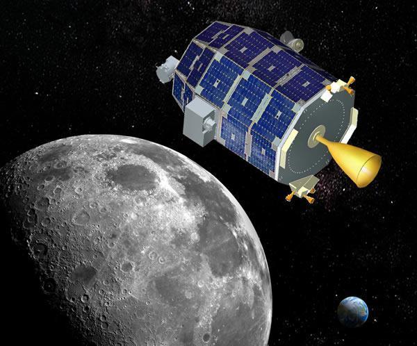 美国月球探测器高速撞月自毁 零件因高温汽化