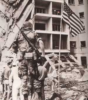 美国驻黎巴嫩大使馆被炸